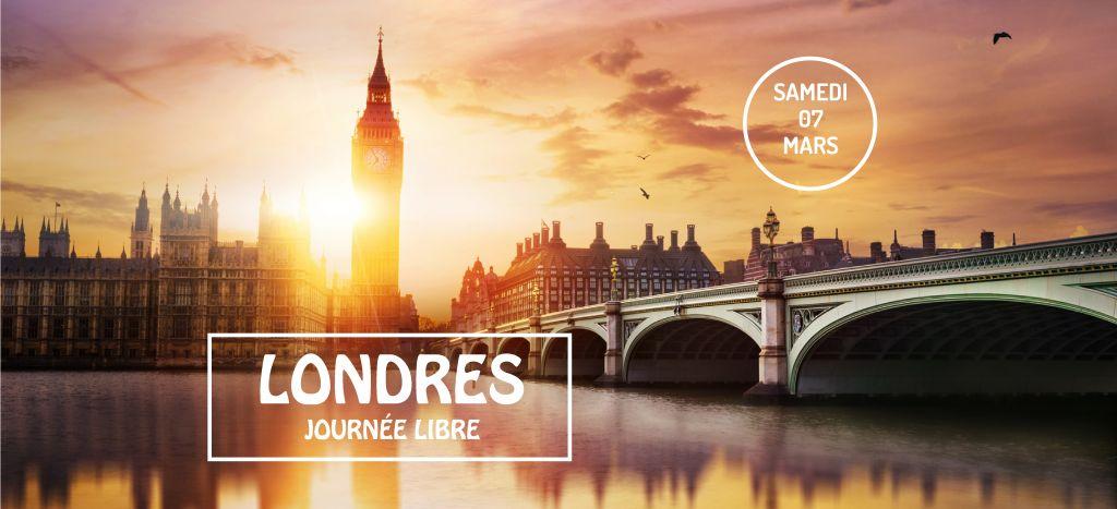 Londres journée libre